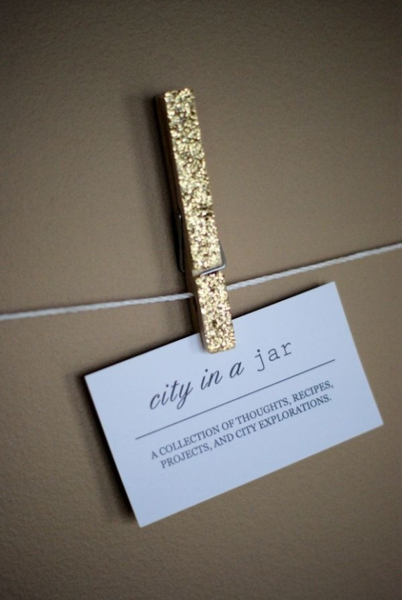 glitteredclothespins
